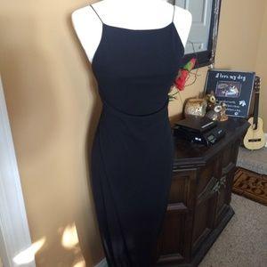 Black Maxi Dress Laundry xxs